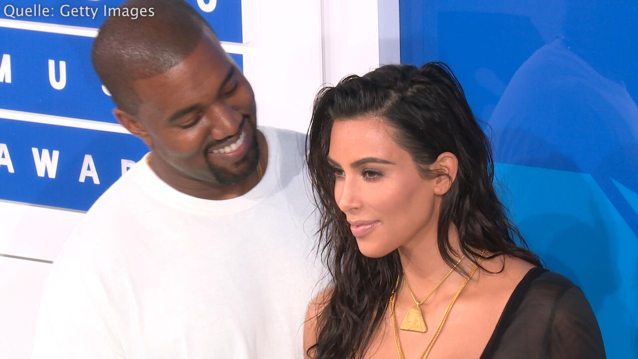 Bild zu Kim Kardashian: Harte Nanny Regel wegen Ehemann Kanye