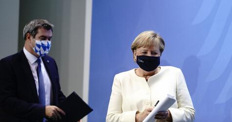 Beratungen der Ministerpräsidenten mit der Kanzlerin