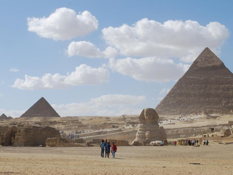 Bild zu Pyramiden von Gizeh