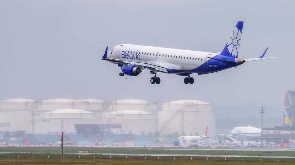 Luftraum-Sperre für Fluggesellschaften aus Belarus