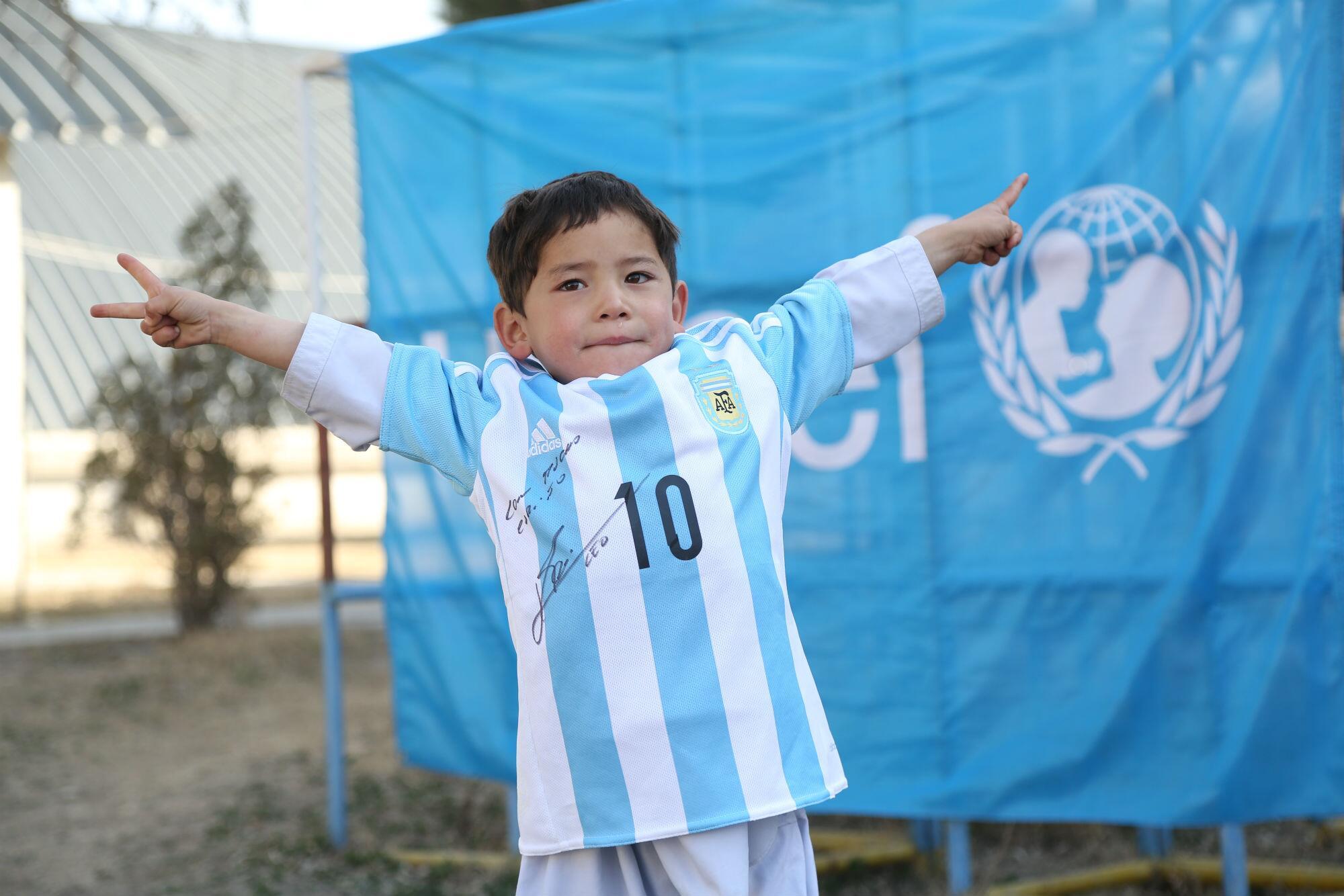 Bild zu Lionel Messi, Murtasa Ahmadi
