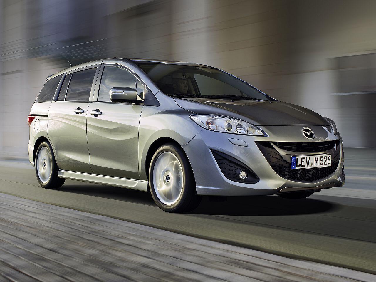 Bild zu Platz 3: Mazda5