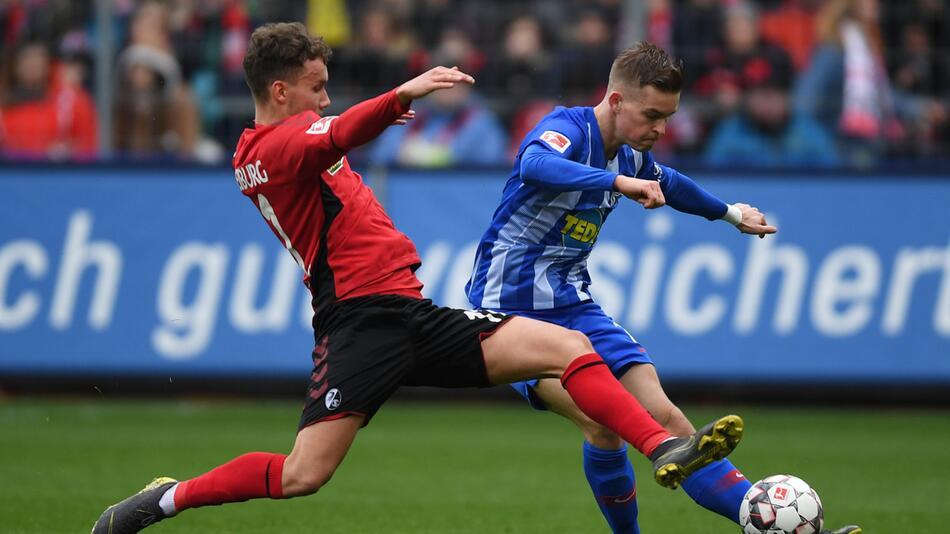 Germany Bundesliga - SC Freiburg vs Hertha BSC