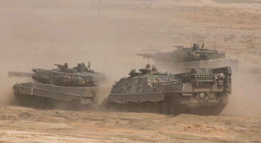 Bild zu Panzer, Rüstungsexporte, Deutschland