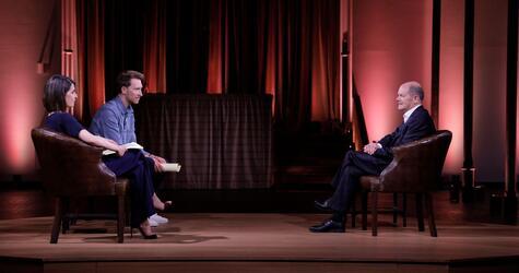 «ProSieben Spezial Live. Der Kanzlerkandidat im Interview»
