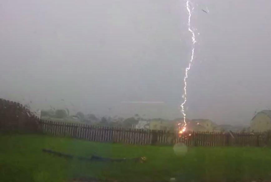 Bild zu Blitzeinschlag