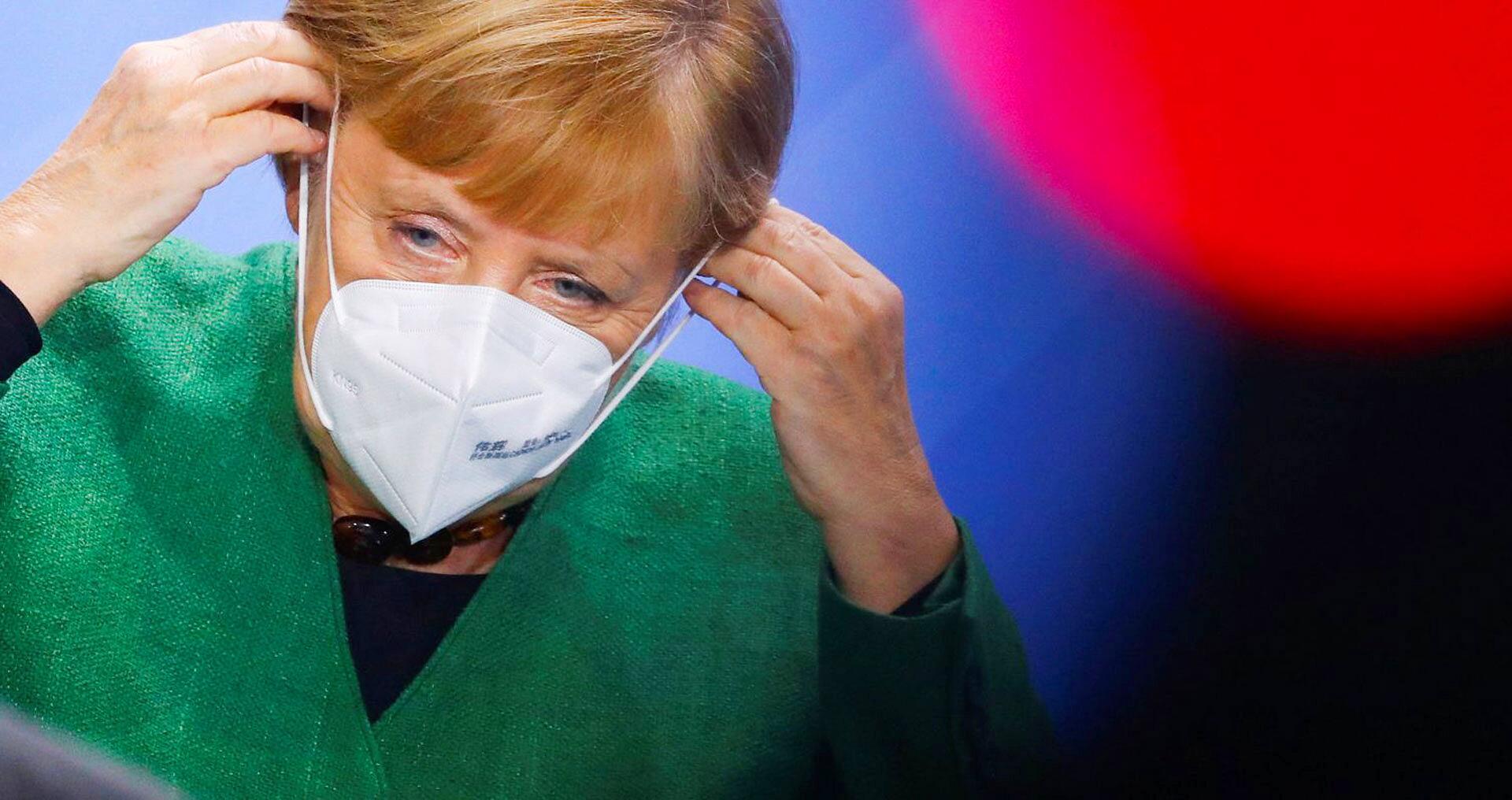 Bild zu Bundeskanzlerin Merkel beim Integrationsgipfel
