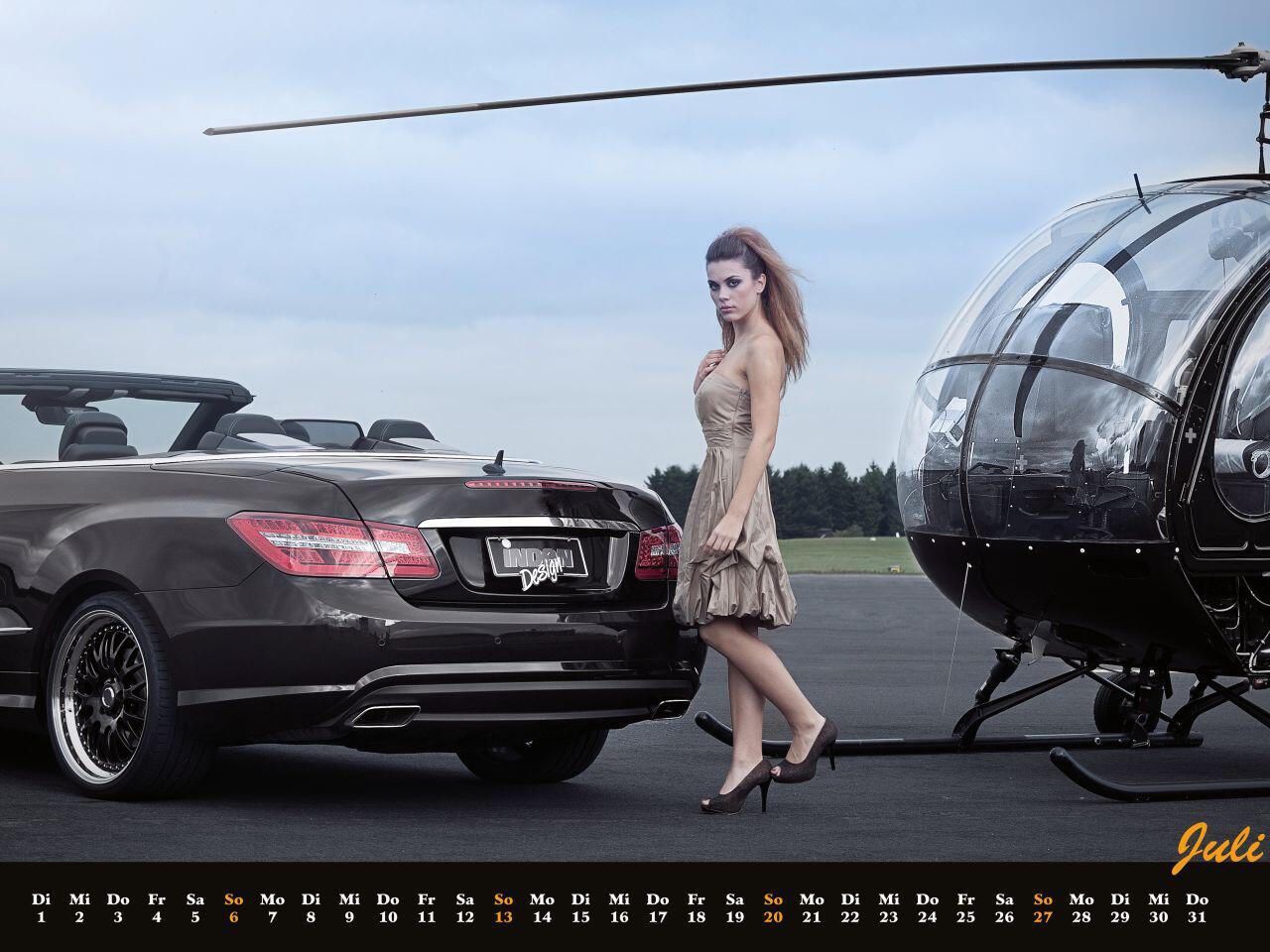 Bild zu Die Qual der Wahl: Hubschrauber oder doch lieber einen Mercedes?