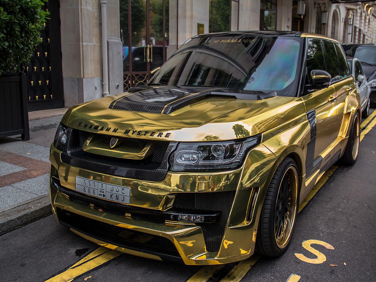 Bild zu Range Rover von Hamann
