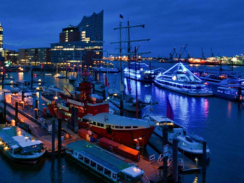 Bild zu Hamburger Hafen