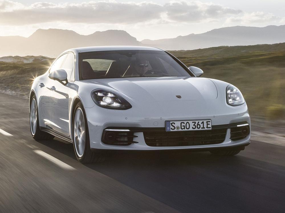 Bild zu Porsche Panamera 4 E-Hybrid