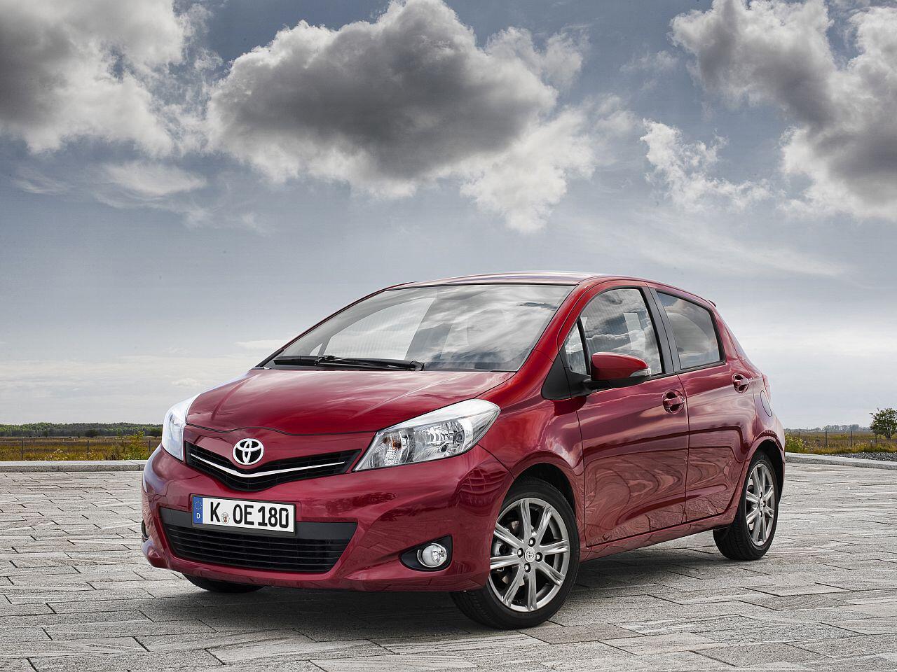 Bild zu Platz 1: Toyota Yaris