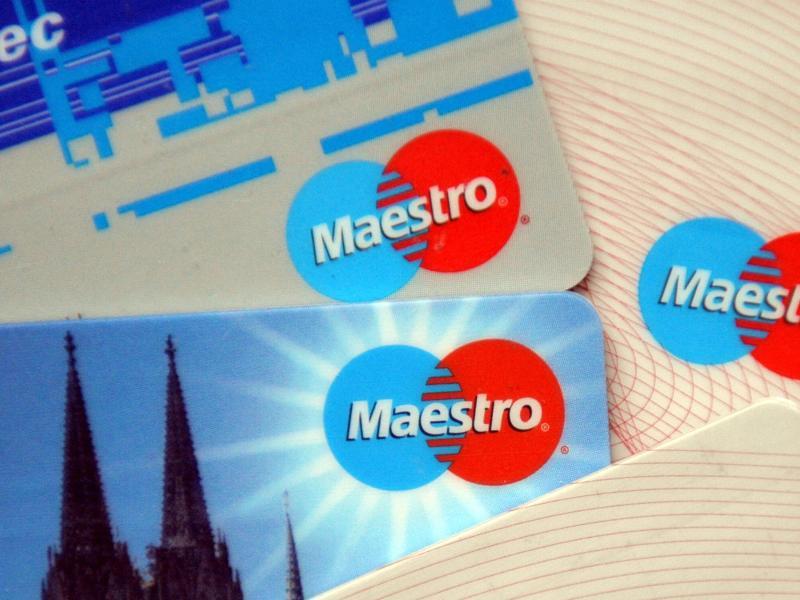Bild zu Maestro-Karten