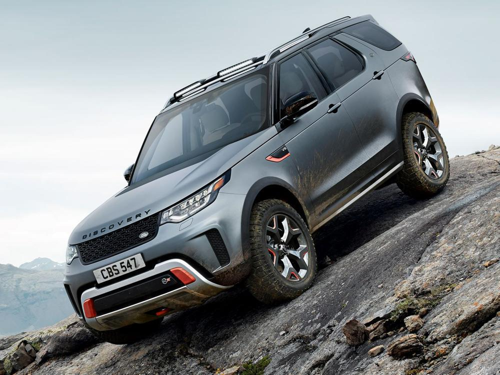 Bild zu Land Rover Discovery SVX