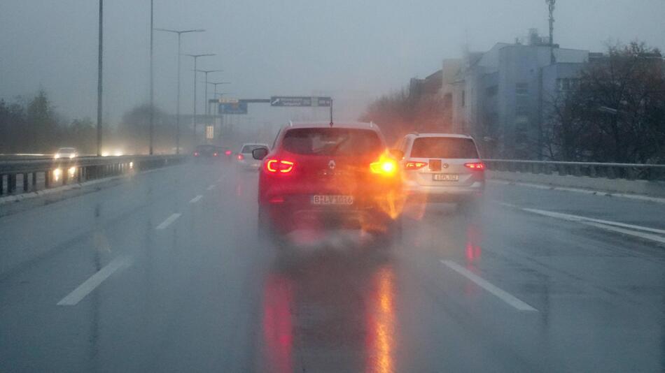 Blinkendes Auto