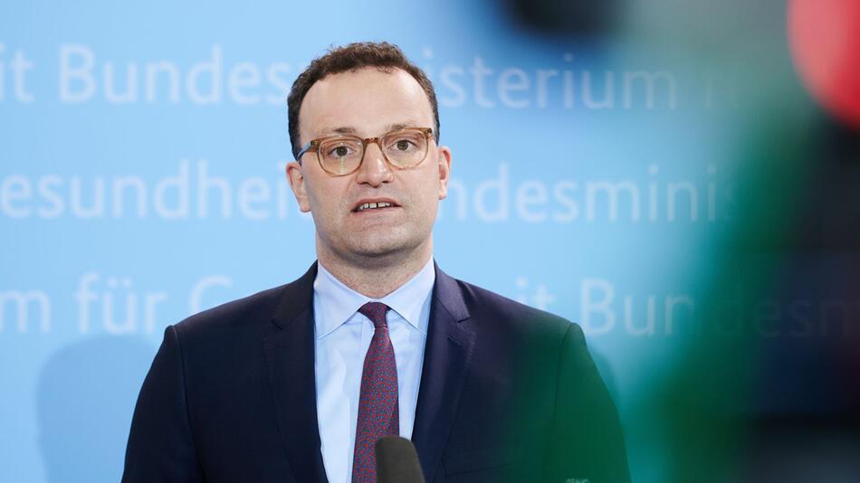 Coronavirus - Jens Spahn zu EMA Entscheidung
