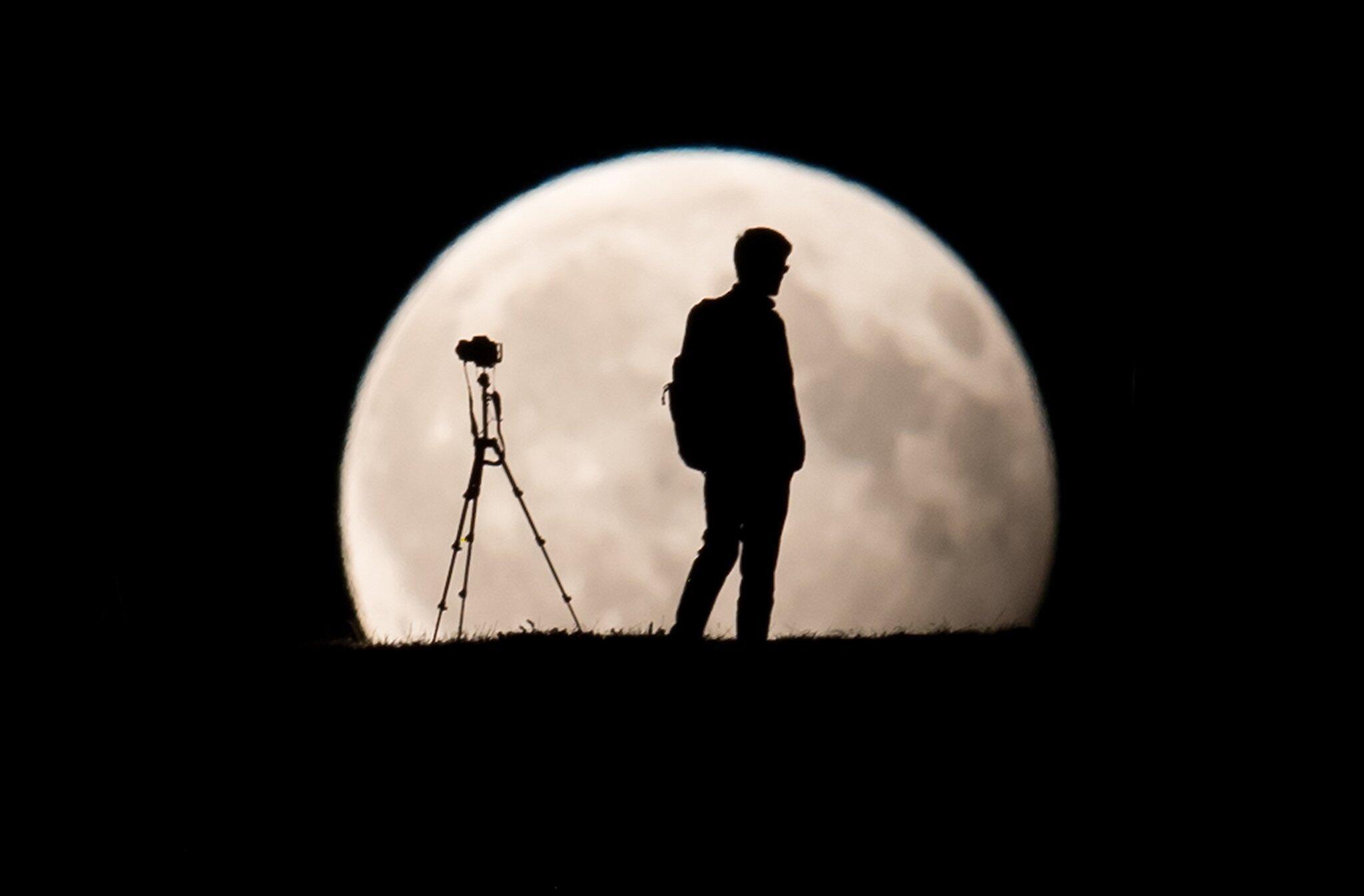 Bild zu Partielle Mondfinsternis 2017