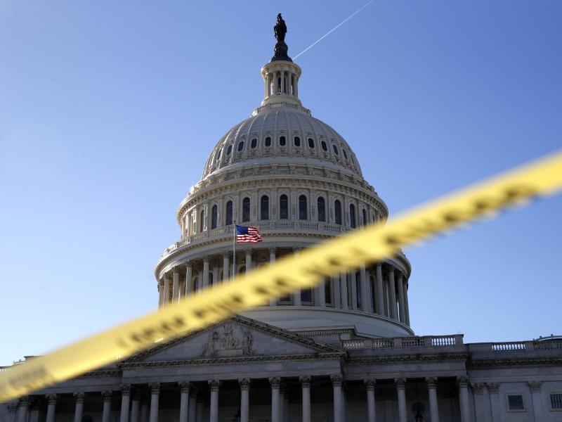 Bild zu Das Kapitol in Washington