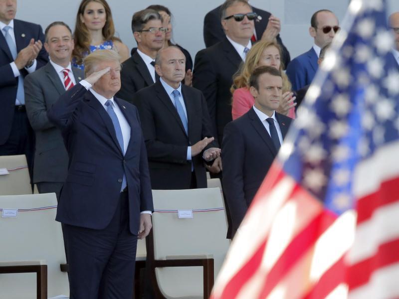 Bild zu Donald Trump in Frankreich
