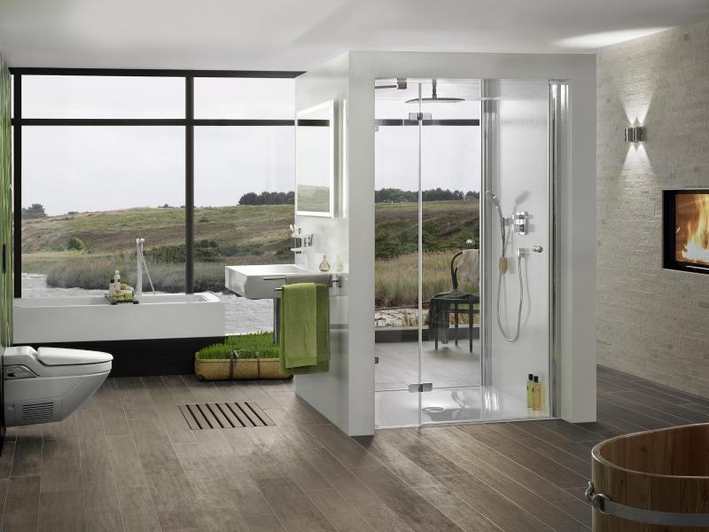 eiche und nussbaum eignen sich als parkett f rs bad. Black Bedroom Furniture Sets. Home Design Ideas