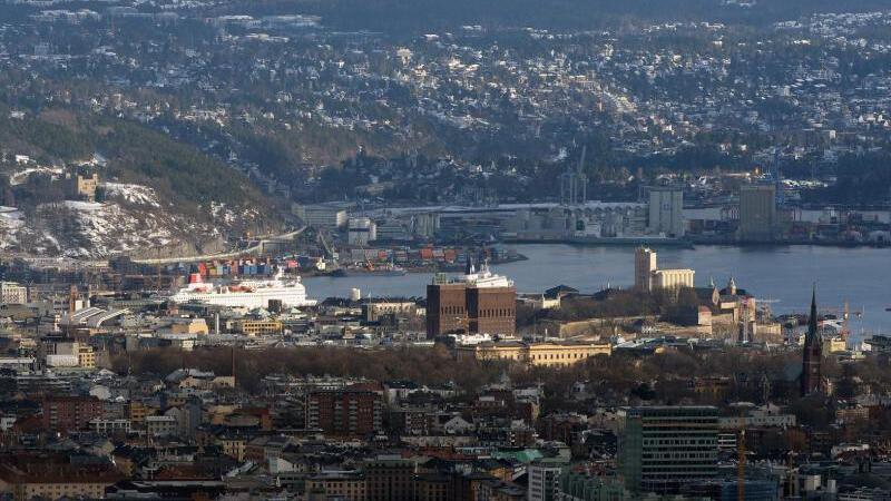 Norwegens Hauptstadt Oslo