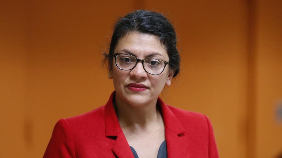 US-Abgeordnete Rashida Tlaib