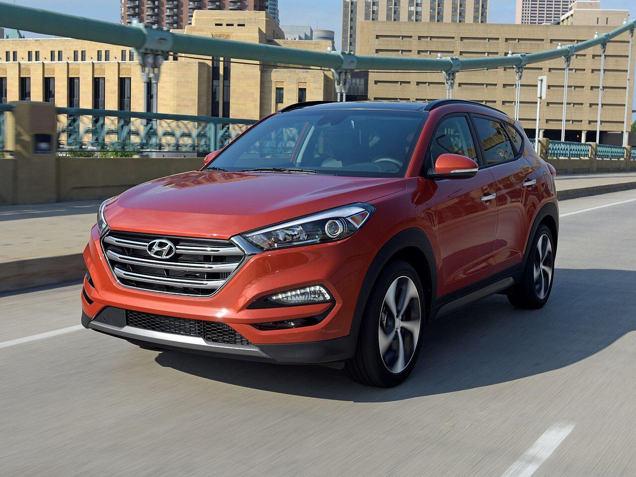 Bild zu Platz 4: Hyundai Tucson
