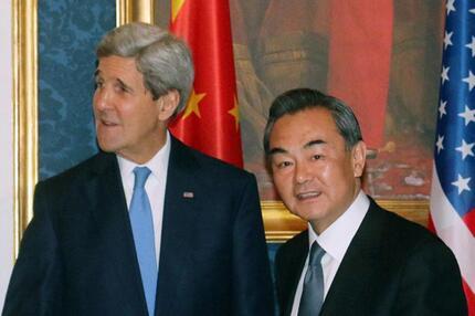 USA bittet China um Unterstützung