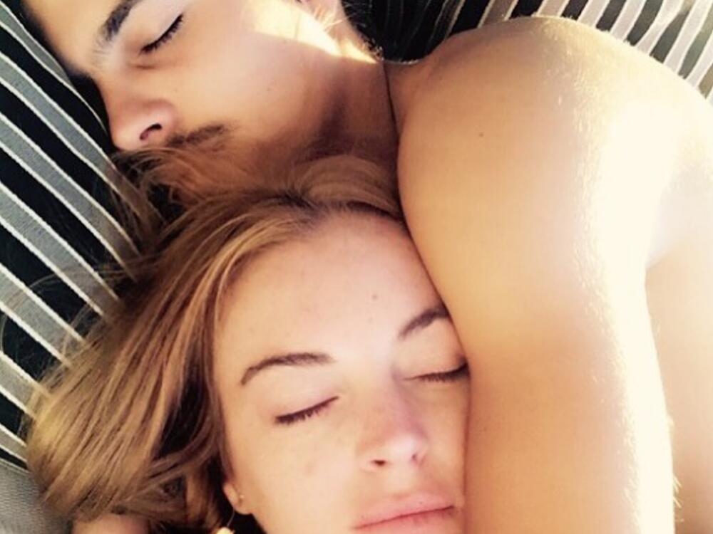Bild zu Lindsay Lohan und ihr Freund Egor Tarabasov
