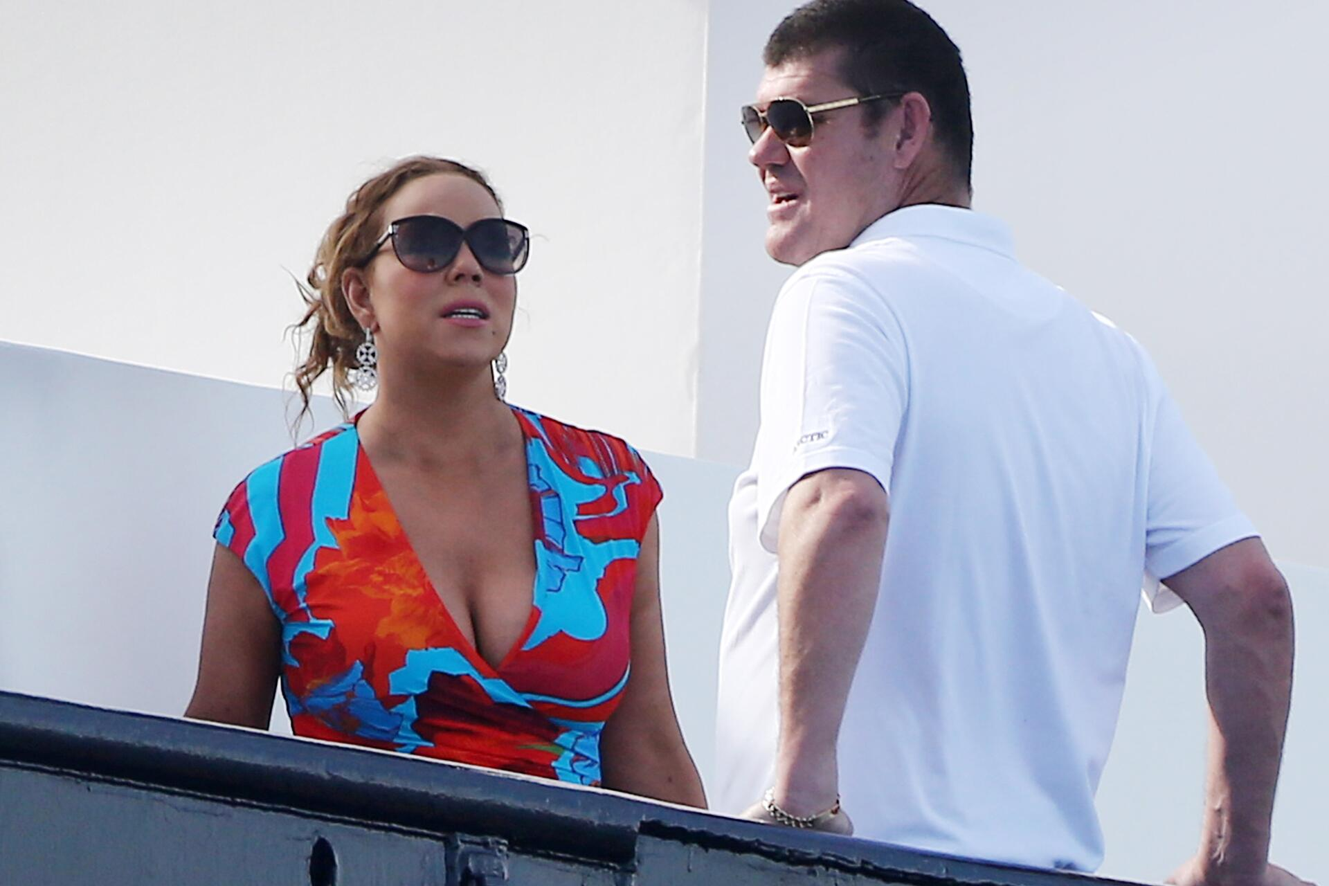 Bild zu Mariah Carey, James Packer