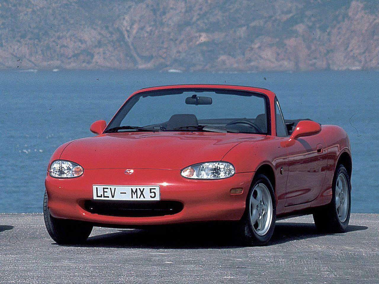 Bild zu 25-jähriges Jubiläum: Der japanische Bestseller-Roadster Mazda MX-5