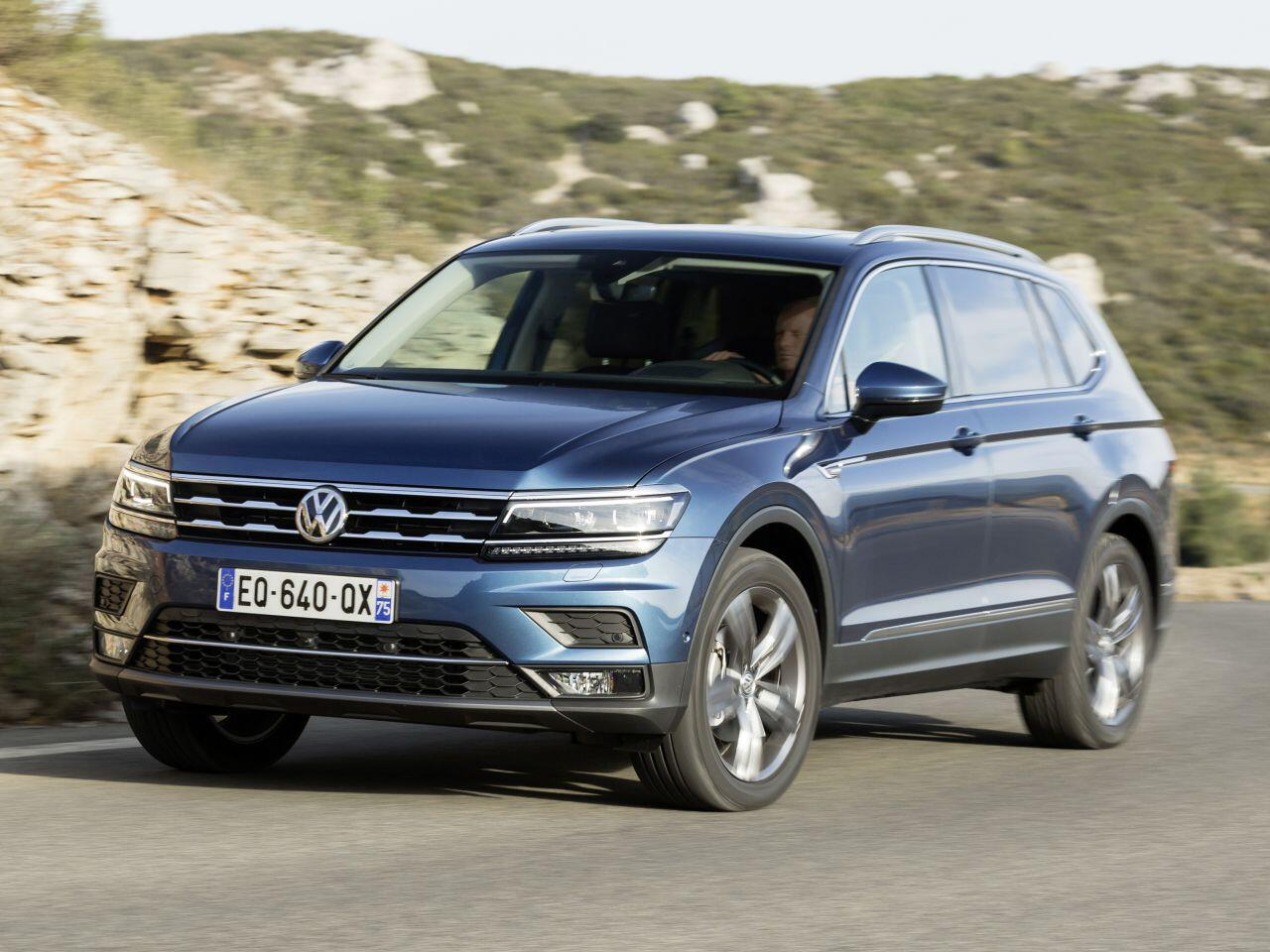 Bild zu Platz 2: VW Tiguan