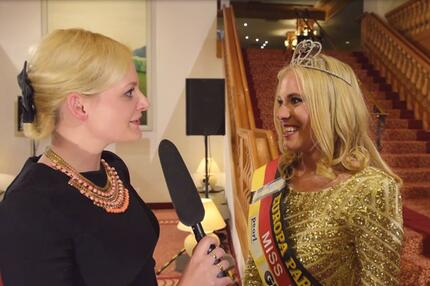 Miss Internet - Interview Siegerin