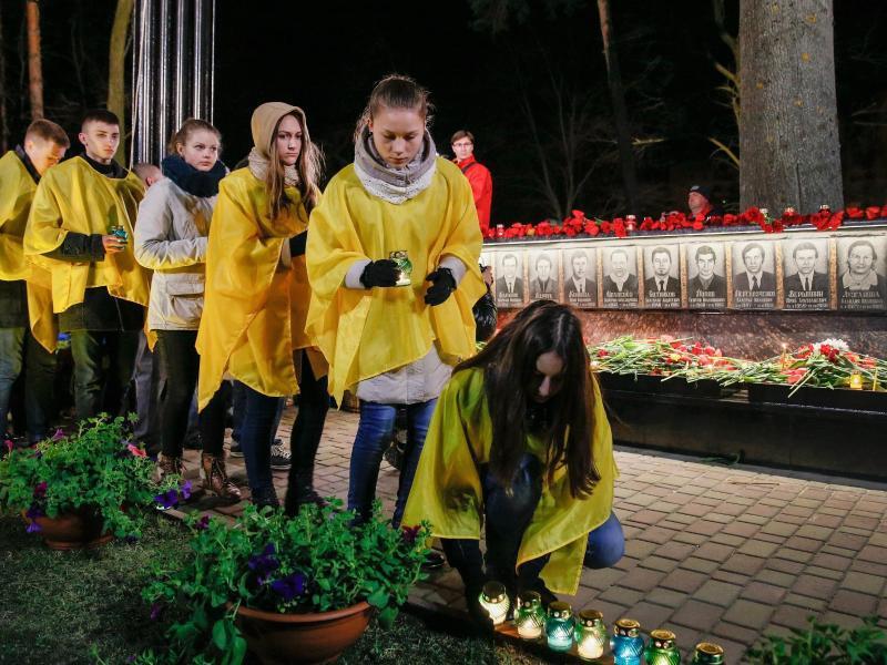 Bild zu Gedenken in Kiew