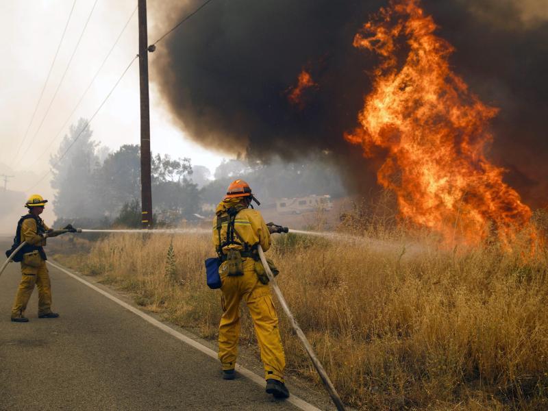 Bild zu Brände nahe Los Angeles
