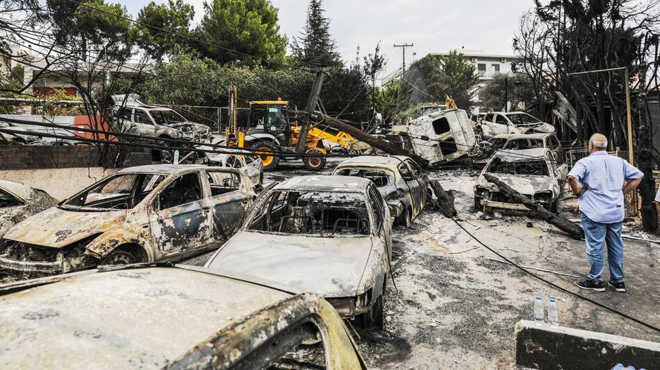 Waldbrände, Griechenland