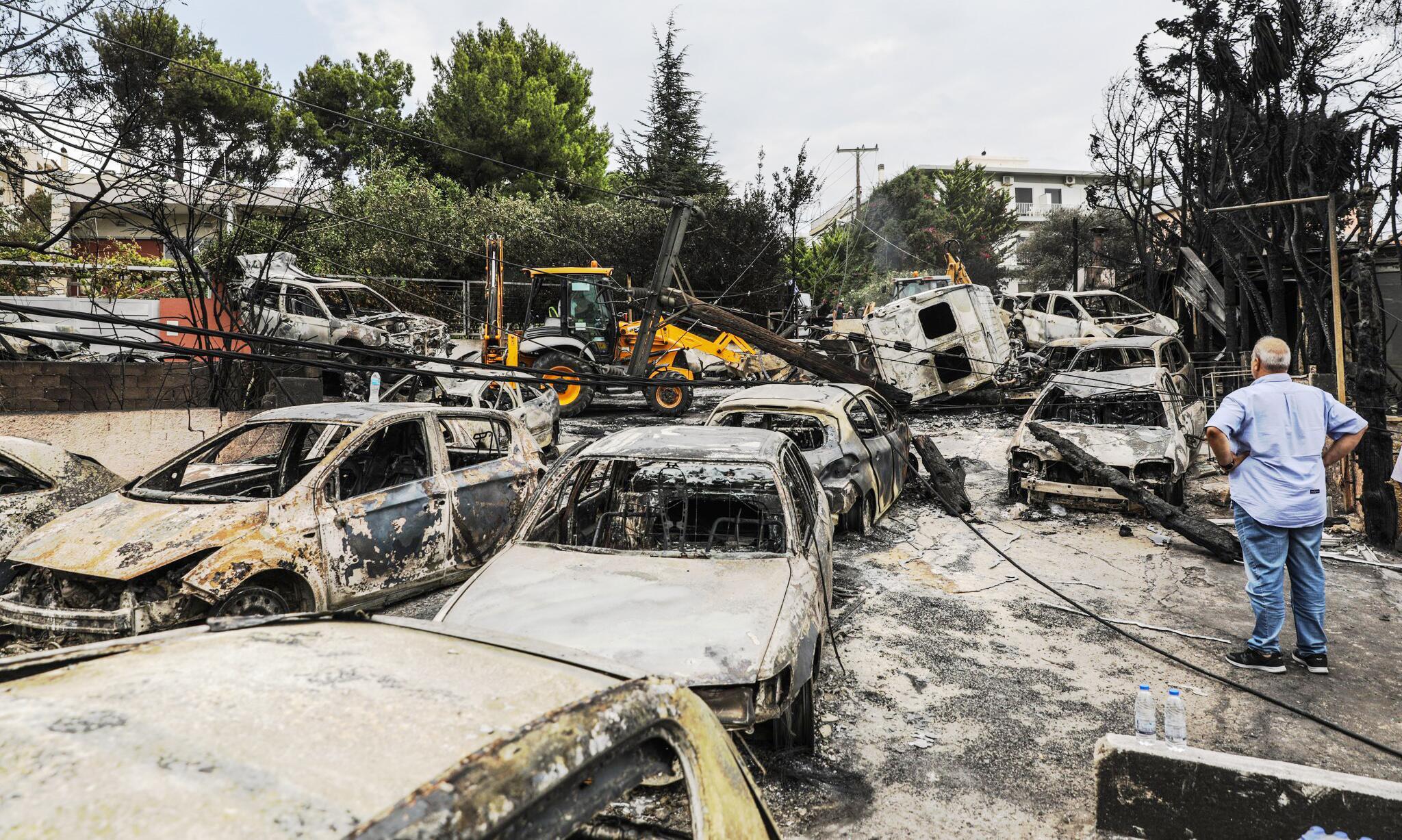 Bild zu Waldbrände, Griechenland