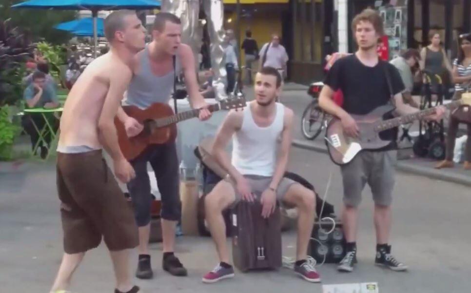 Bild zu Diese Band macht gute Laune.