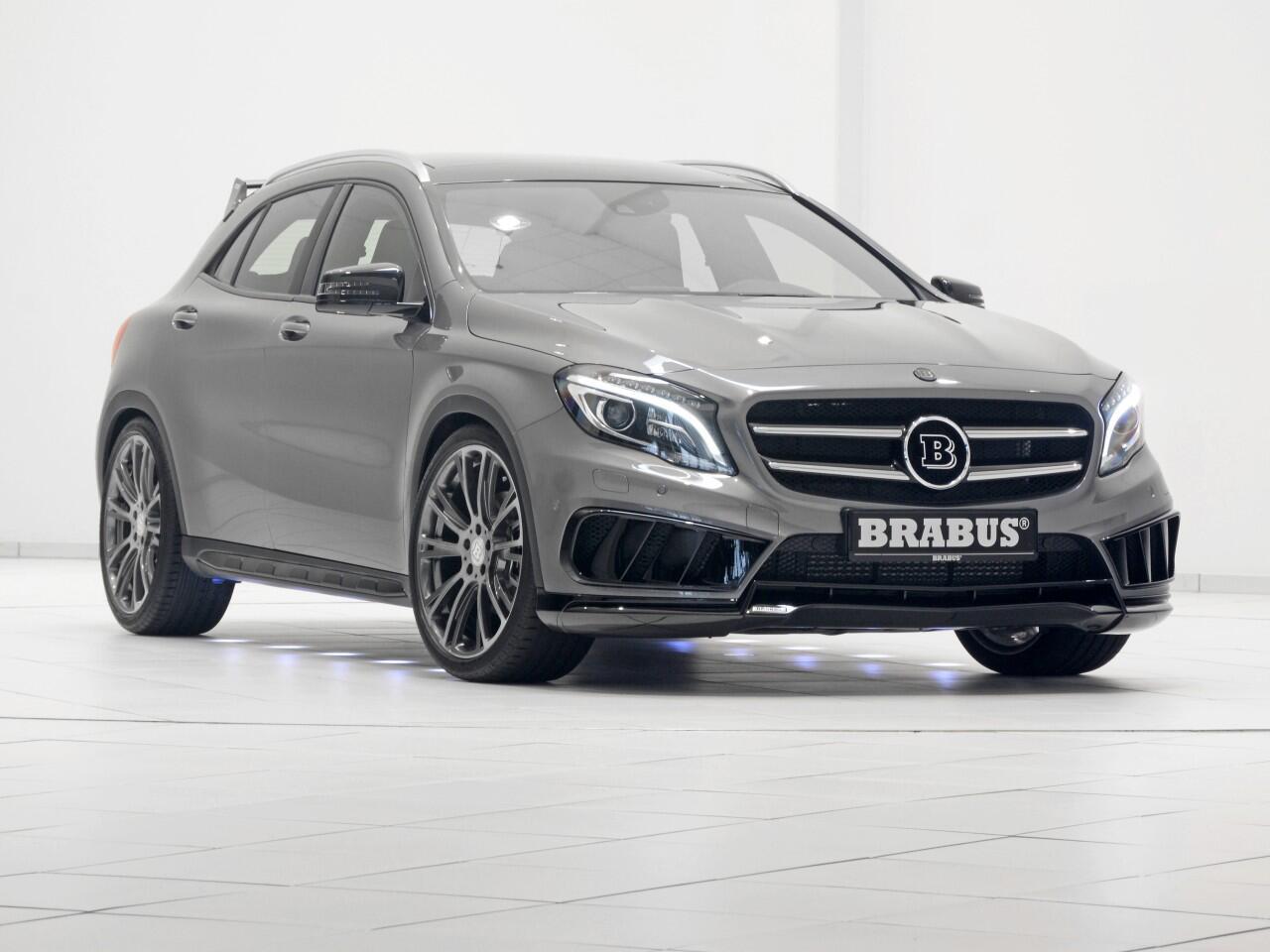 Bild zu Mercedes GLA von Brabus