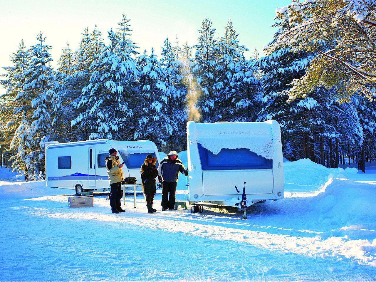 Bild zu Der Winter kann Ihrem Campingwagen schaden