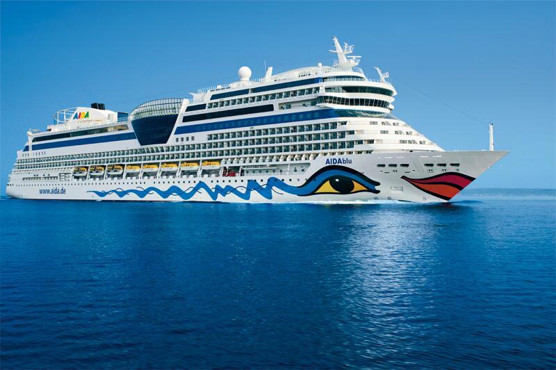 Bild zu Kreuzfahrtschiff AidaBlu