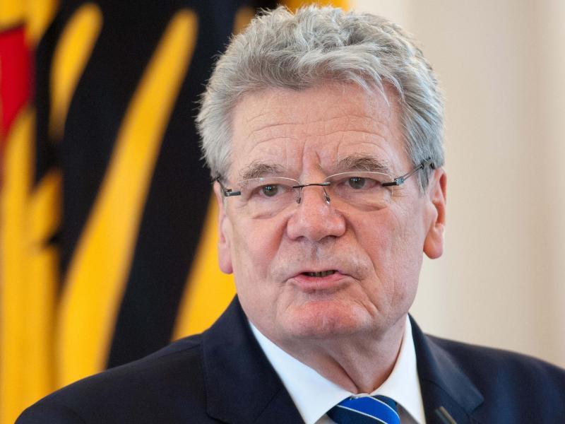 Bild zu Bundespräsident Joachim Gauck