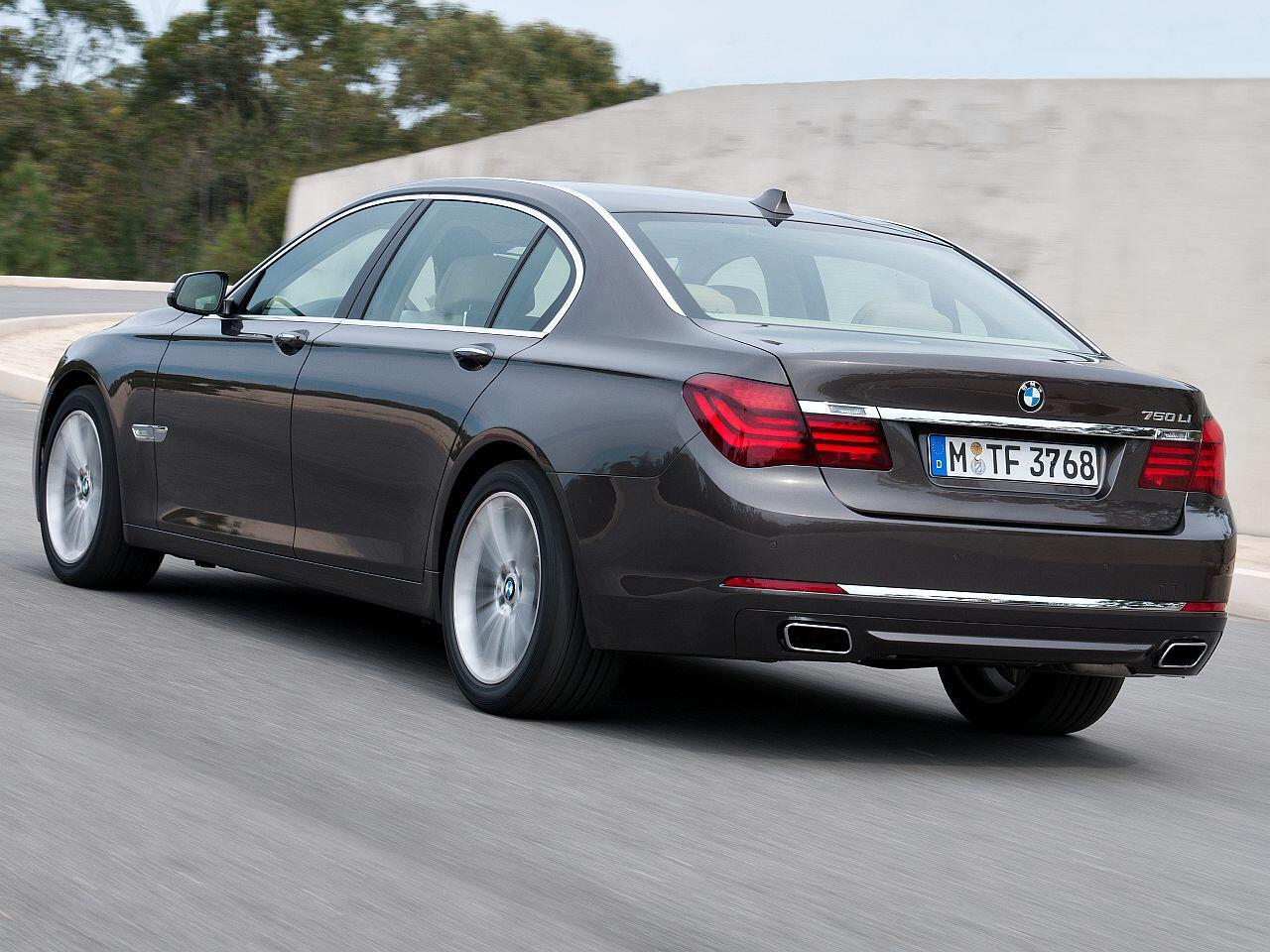 Bild zu Oberklasse-Limousine BMW 7er