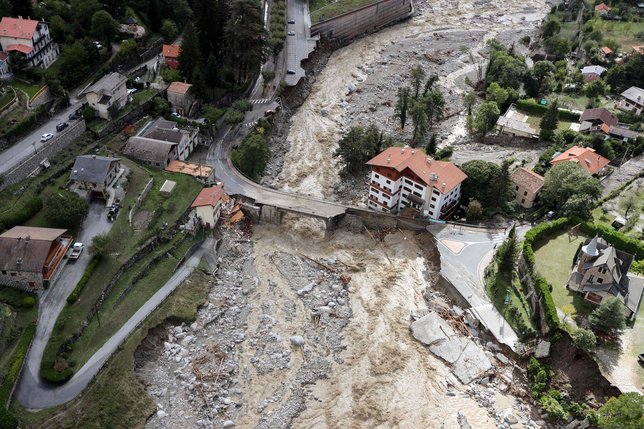 Bild zu Starkregen und Sturm in Frankreich