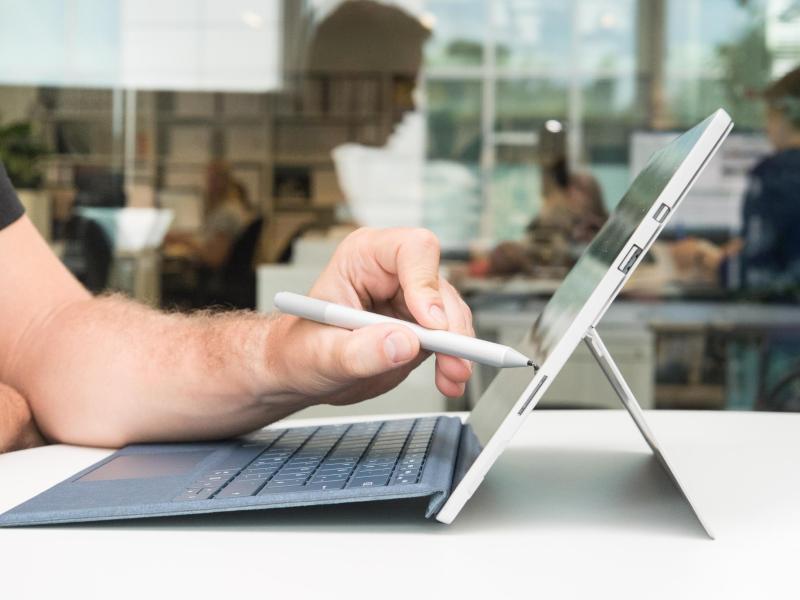 Bild zu Mit Pen auf Touchscreen arbeiten