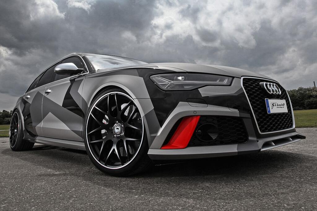 Getunter Audi RS6 Avant