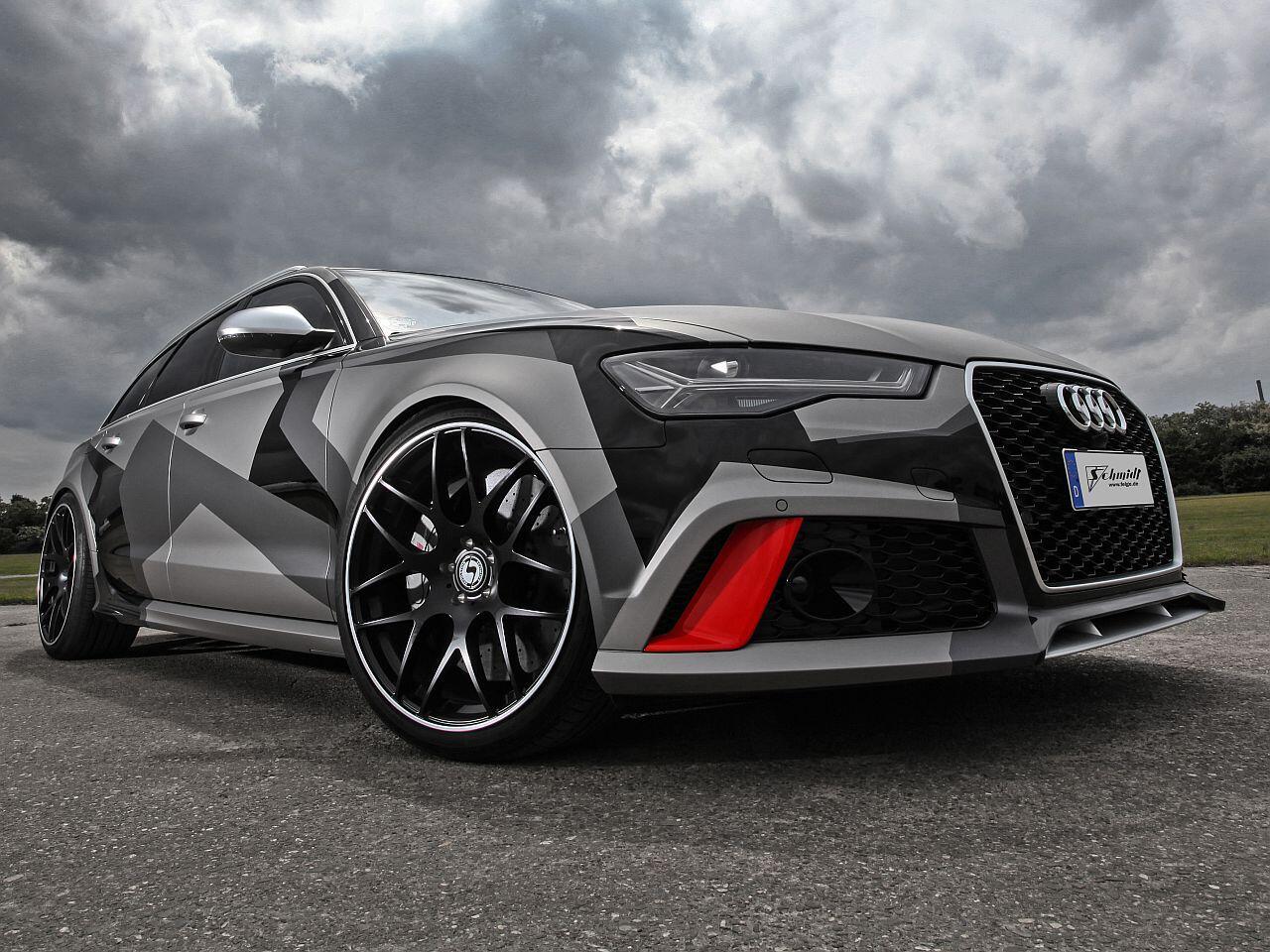 Bild zu Getunter Audi RS6 Avant