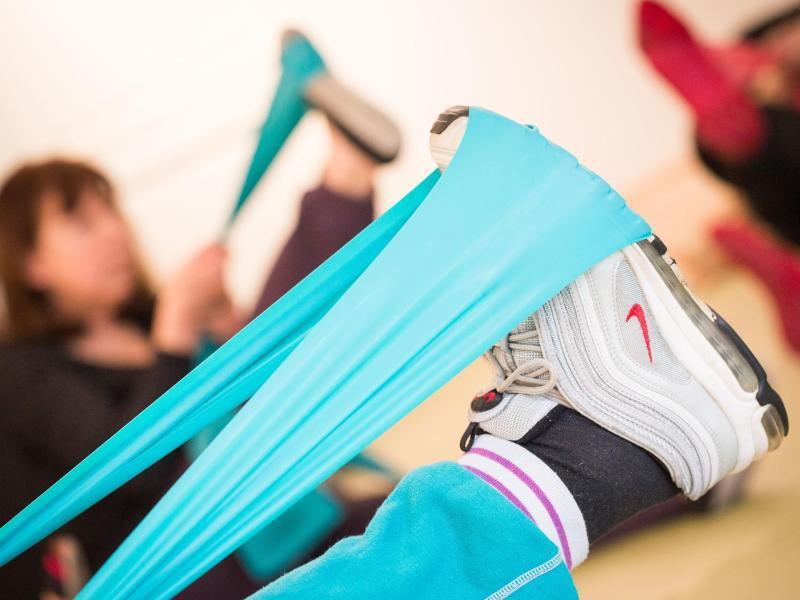 Bild zu Bewegungstherapie in der Reha