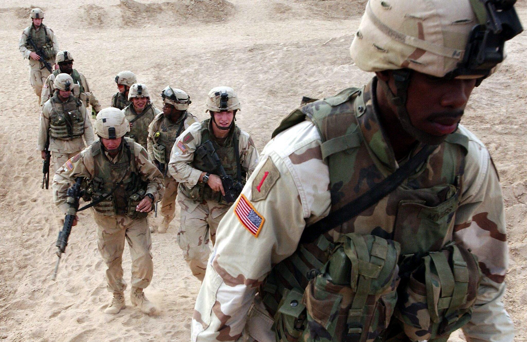 Bild zu US-Truppen im Irak