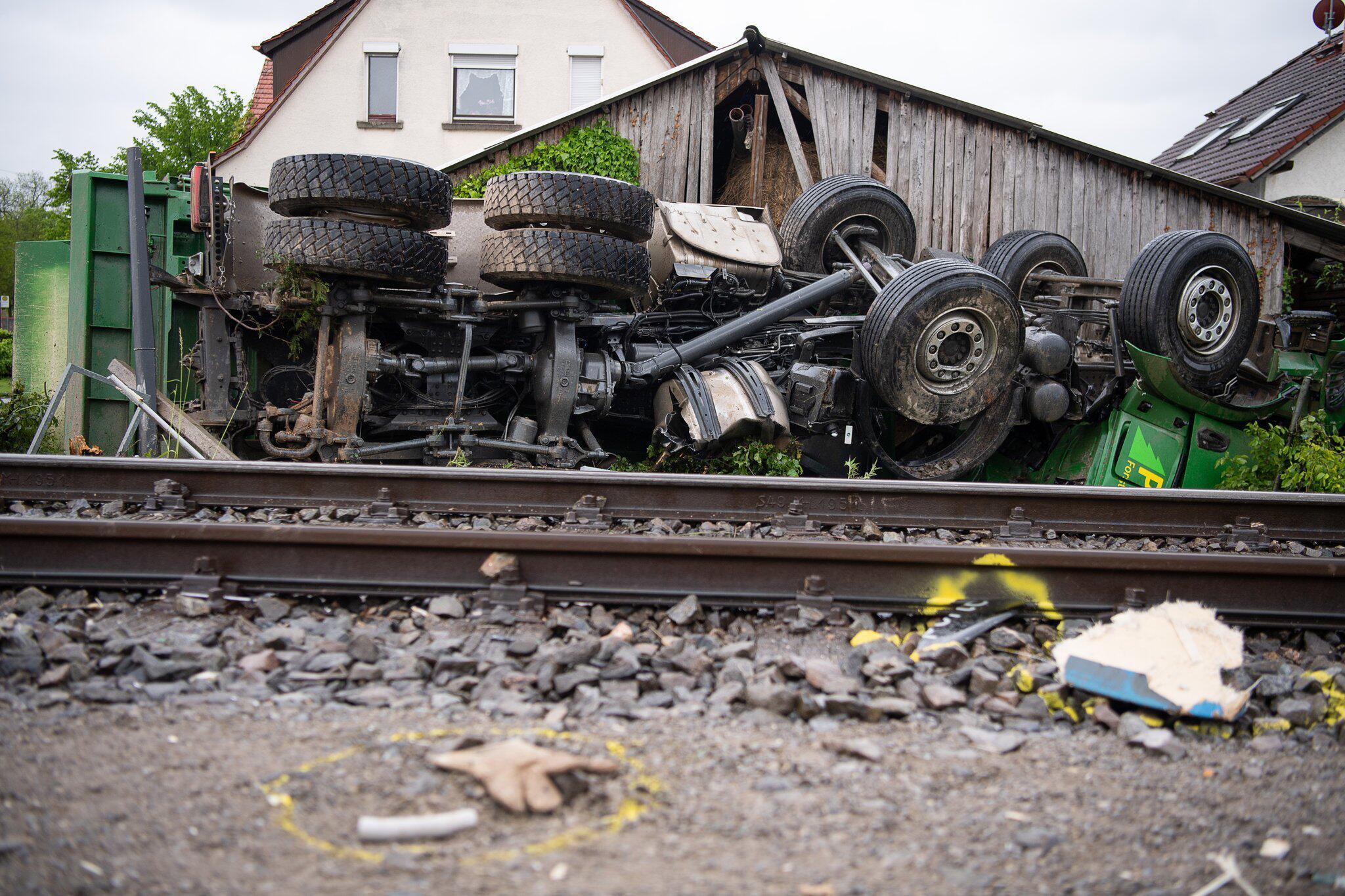 Bild zu Zugunfall bei Tübingen